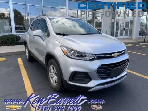 2017 Chevrolet Trax for sale at KEN BARRETT CHEVROLET CADILLAC in Batavia NY
