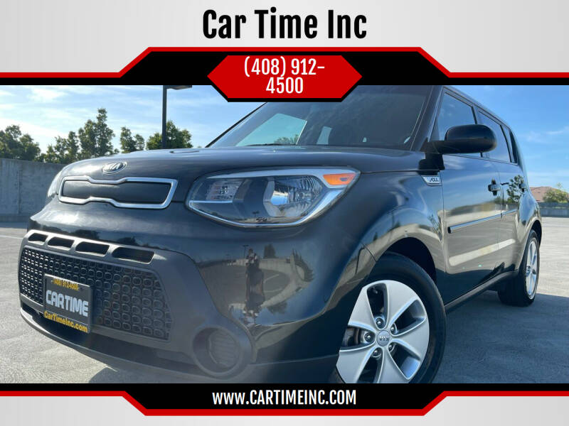 2015 Kia Soul for sale at Car Time Inc in San Jose CA