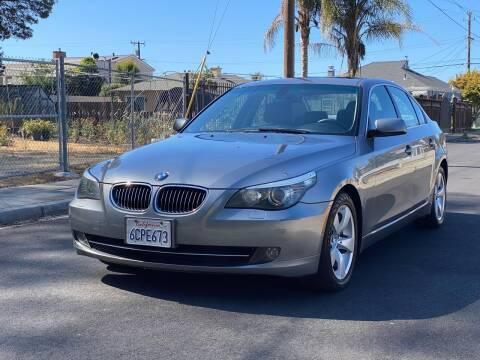 2008 BMW 5 Series for sale at ZaZa Motors in San Leandro CA