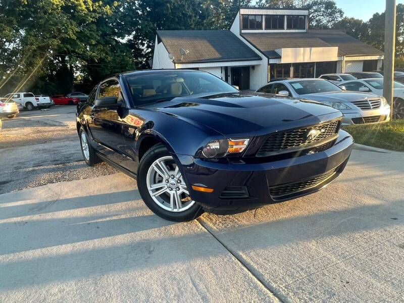 2011 Ford Mustang for sale at Alpha Car Land LLC in Snellville GA