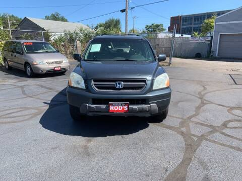 2004 Honda Pilot for sale at Rod's Automotive in Cincinnati OH