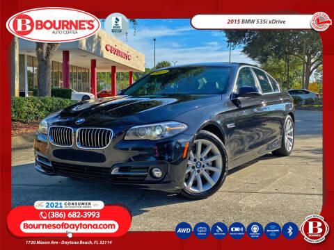 2015 BMW 5 Series for sale at Bourne's Auto Center in Daytona Beach FL