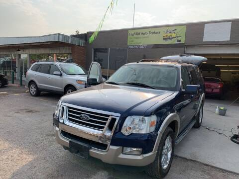 2008 Ford Explorer for sale at Highbid Auto Sales & Service in Arvada CO