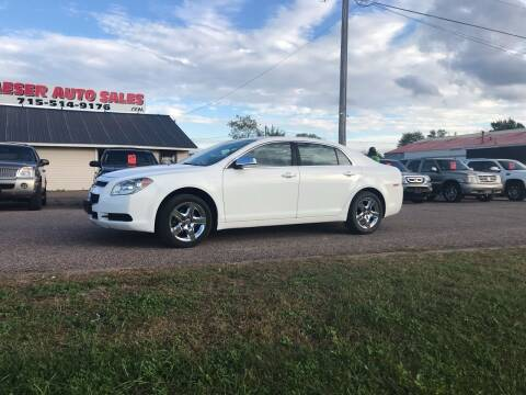 2011 Chevrolet Malibu for sale at BLAESER AUTO LLC in Chippewa Falls WI