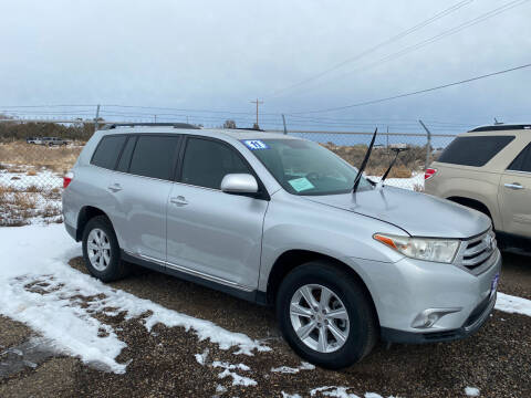 2011 Toyota Highlander for sale at 4X4 Auto in Cortez CO