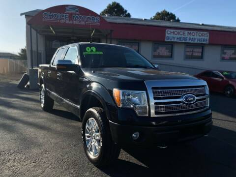 2009 Ford F-150 for sale at Choice Motors of Salt Lake City in West Valley  City UT