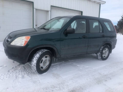 2003 Honda CR-V for sale at Purpose Driven Motors in Sidney OH