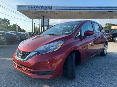 2017 Nissan Versa Note for sale at Showroom Auto Sales of Charleston in Charleston SC