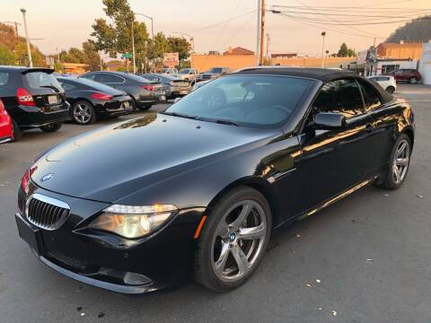 2008 BMW 6 Series for sale at EKE Motorsports Inc. in El Cerrito CA