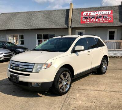 2008 Ford Edge for sale at Stephen Motor Sales LLC in Caldwell OH