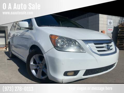 2008 Honda Odyssey for sale at O A Auto Sale in Paterson NJ