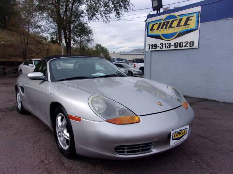 1999 Porsche Boxster for sale at Circle Auto Center in Colorado Springs CO