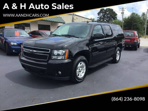 2012 Chevrolet Suburban for sale at A & H Auto Sales in Greenville SC