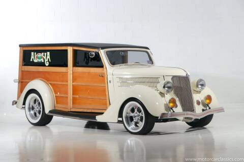 1936 Ford Woody for sale at Motorcar Classics in Farmingdale NY