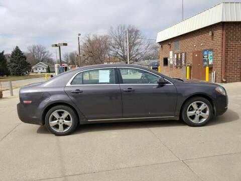 2010 Chevrolet Malibu for sale at RIVERSIDE AUTO SALES in Sioux City IA