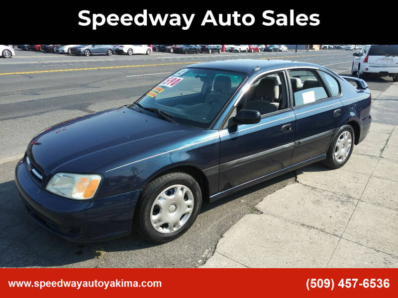 2002 Subaru Legacy for sale at Speedway Auto Sales in Yakima WA