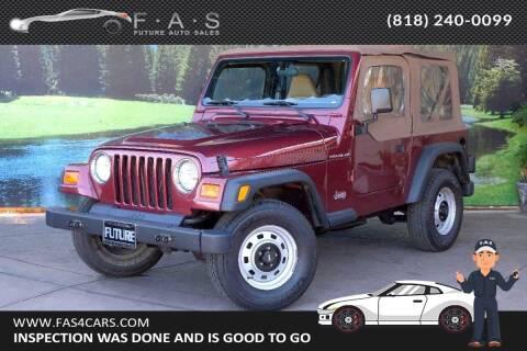 2001 Jeep Wrangler for sale at Best Car Buy in Glendale CA