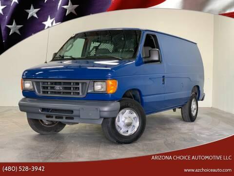 2006 Ford E-Series Cargo for sale at Arizona Choice Automotive LLC in Mesa AZ