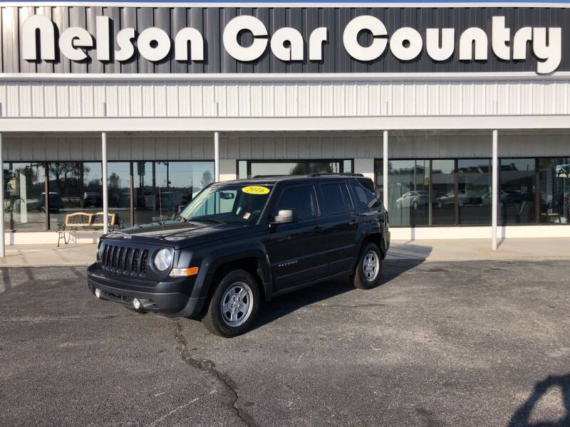 2016 Jeep Patriot for sale at Nelson Car Country in Bixby OK