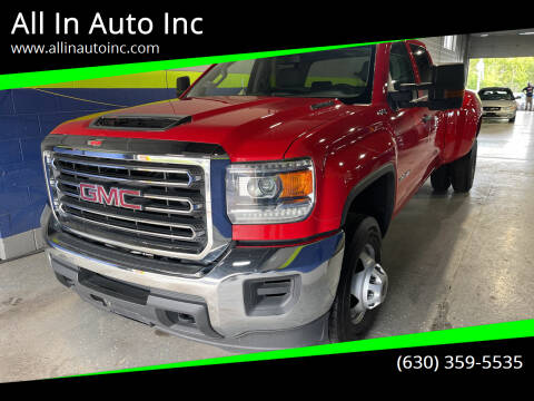 2019 GMC Sierra 3500HD for sale at All In Auto Inc in Palatine IL