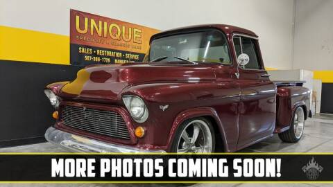 1957 Chevrolet C/K 20 Series for sale at UNIQUE SPECIALTY & CLASSICS in Mankato MN