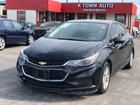 2016 Chevrolet Cruze for sale at K Town Auto in Killeen TX