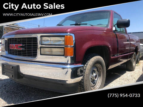 1994 GMC Sierra 1500 for sale at City Auto Sales in Sparks NV