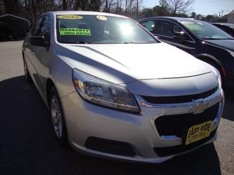 2014 Chevrolet Malibu for sale at Easy Ride Auto Sales Inc in Chester VA
