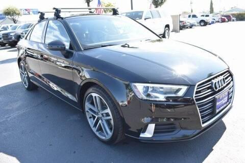 2018 Audi A3 for sale at DIAMOND VALLEY HONDA in Hemet CA