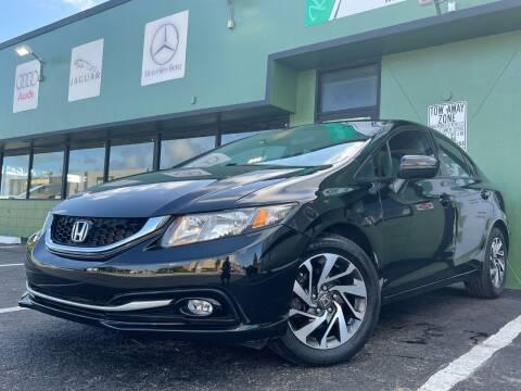 2013 Honda Civic for sale at KARZILLA MOTORS in Oakland Park FL