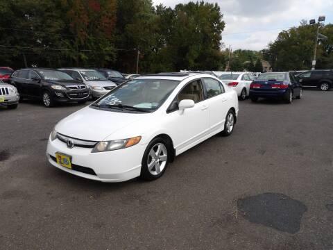 2008 Honda Civic for sale at United Auto Land in Woodbury NJ