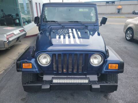 2001 Jeep Wrangler for sale at All American Autos in Kingsport TN