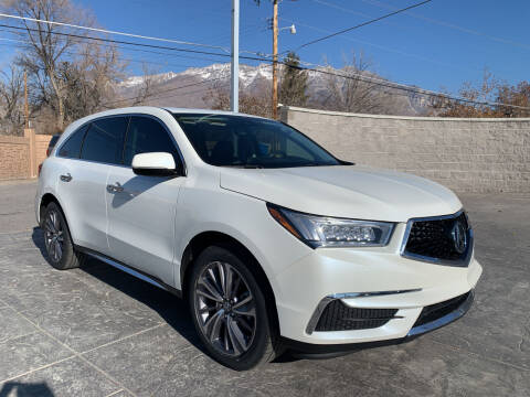 2018 Acura MDX for sale at Berge Auto in Orem UT
