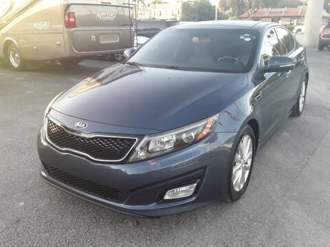 2015 Kia Optima for sale at YOUR BEST DRIVE in Oakland Park FL