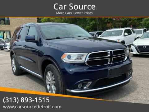 2016 Dodge Durango for sale at Car Source in Detroit MI