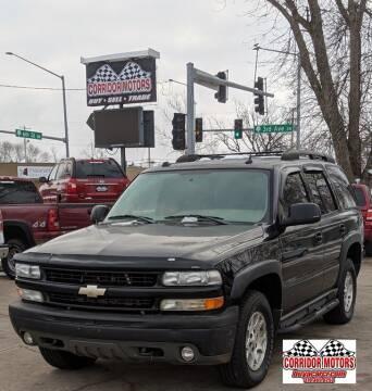 2005 Chevrolet Tahoe for sale at Corridor Motors in Cedar Rapids IA