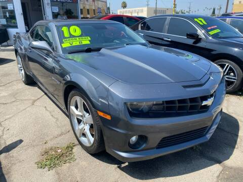2010 Chevrolet Camaro for sale at CAR GENERATION CENTER, INC. in Los Angeles CA