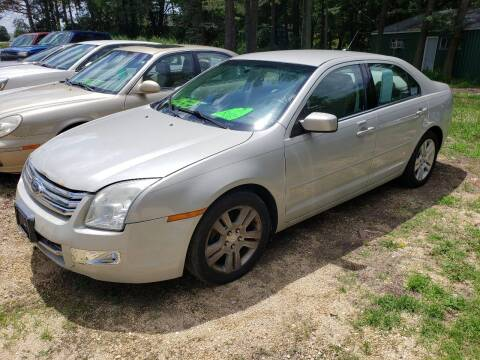 2008 Ford Fusion for sale at Northwoods Auto & Truck Sales in Machesney Park IL
