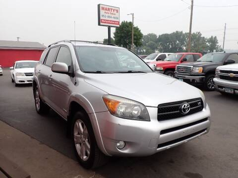 2006 Toyota RAV4 for sale at Marty's Auto Sales in Savage MN