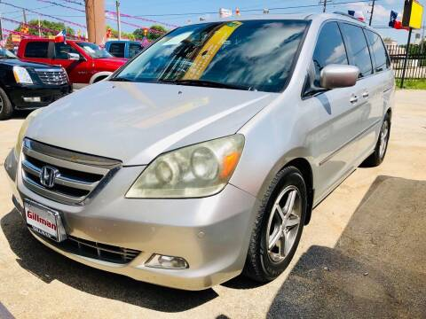 2007 Honda Odyssey for sale at Lion Auto Finance in Houston TX