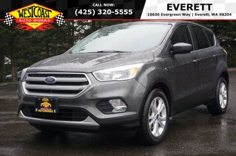 2017 Ford Escape for sale at West Coast Auto Works in Edmonds WA