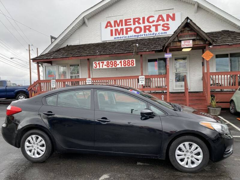 2016 Kia Forte for sale at American Imports INC in Indianapolis IN