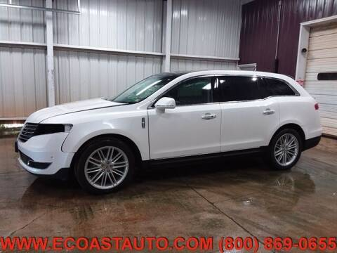 2019 Lincoln MKT for sale at East Coast Auto Source Inc. in Bedford VA