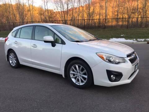 2012 Subaru Impreza for sale at Angies Auto Sales LLC in Newport MN