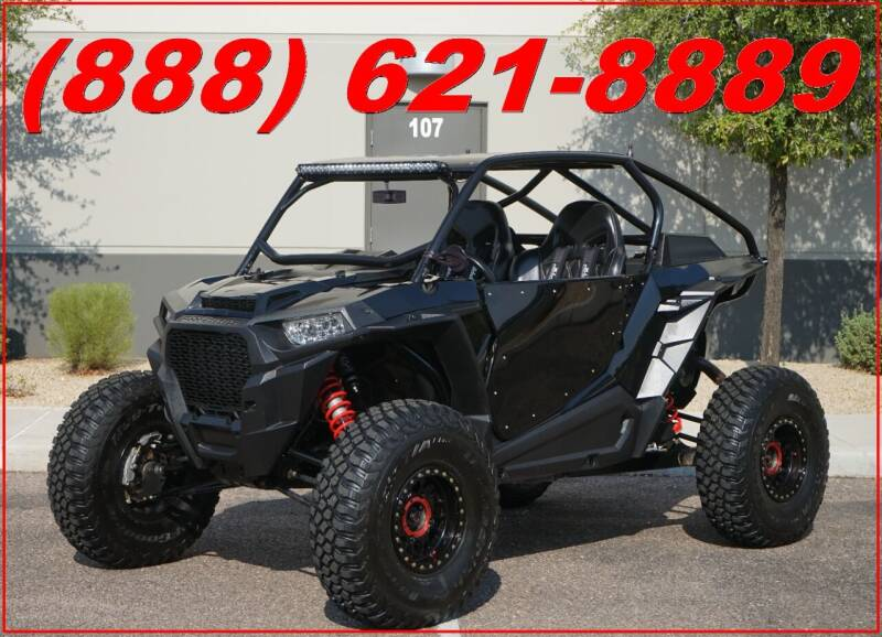 2018 Polaris RZR XP Turbo Fox Edition for sale at AZautorv.com in Mesa AZ