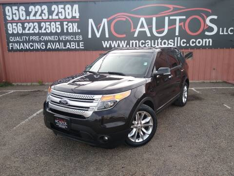 2013 Ford Explorer for sale at MC Autos LLC in Pharr TX