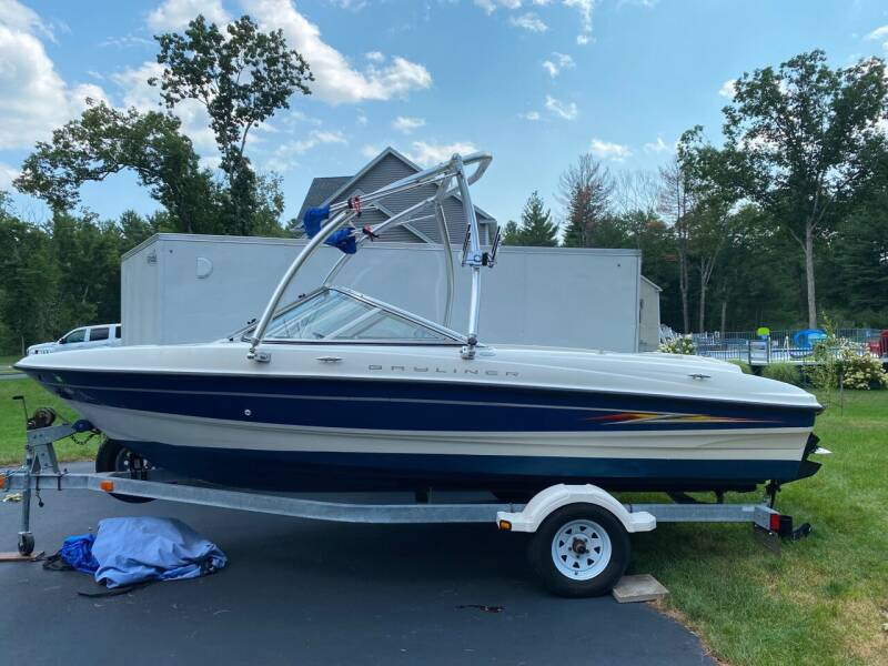 2005 Bayliner 185BR for sale at Innovative Auto Sales in North Hampton NH