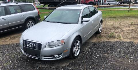 2007 Audi A4 for sale at AUTO OUTLET in Taunton MA