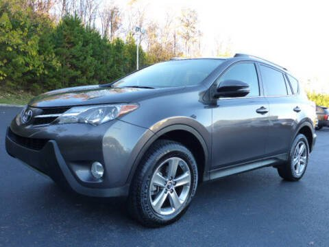 2015 Toyota RAV4 for sale at RUSTY WALLACE KIA OF KNOXVILLE in Knoxville TN