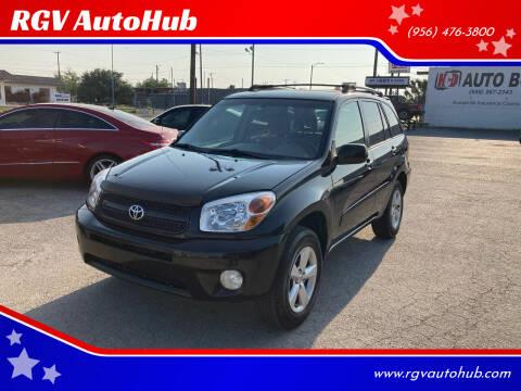 2005 Toyota RAV4 for sale at RGV AutoHub in Harlingen TX